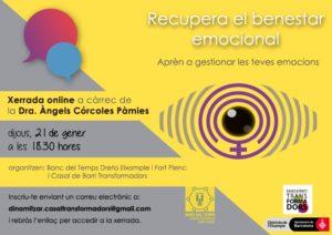 Taller Recupera el benestar emocional Rehaz tu vida después de una relación tóxica